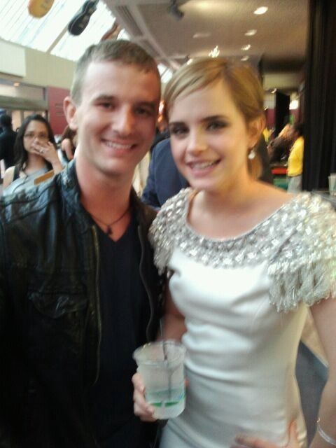 Emma Watson and Cameron Adams/Hermione Granger and Himmione Grainghim
