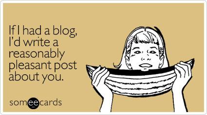 If I had a blog