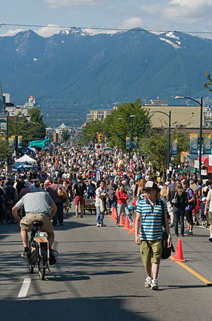 Car Free Day Vancouver