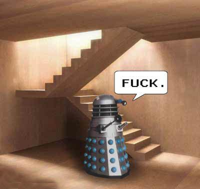Daleks rule the world but only on the ground level