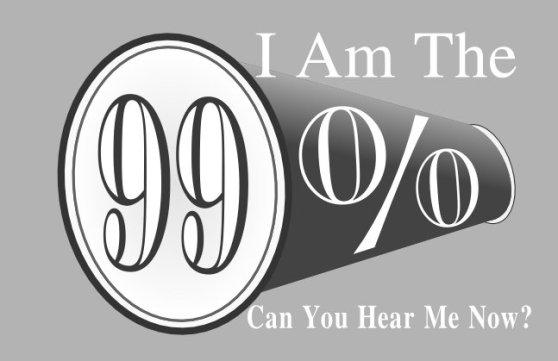 I am the 99 percent