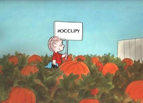 Occupy Pumpkin Patch