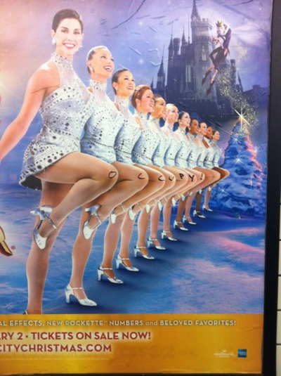 Occupy Rockettes. If Michael Lohan can do it, you can too!