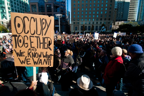 Occupy Together at Occupy Vancouver by Max Hirst