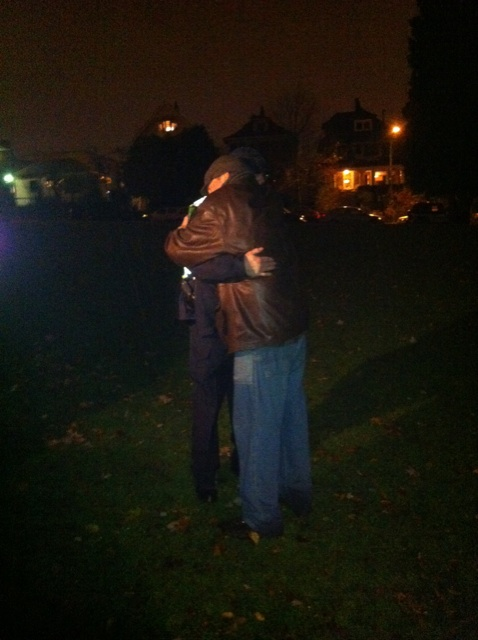 Occupy Grandview Hug