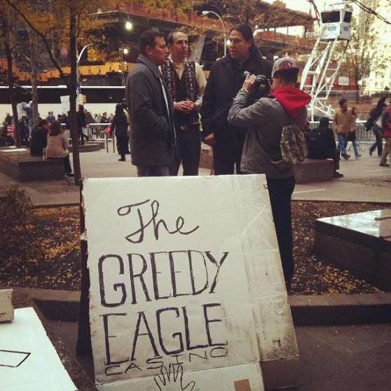 The Greedy Eagle Casino by IndigFlygirl