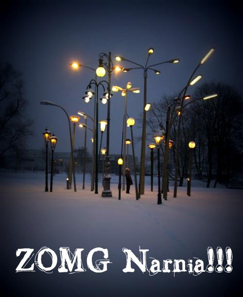 ZOMG Narnia!