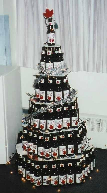 Now THAT is a Canadian Christmas