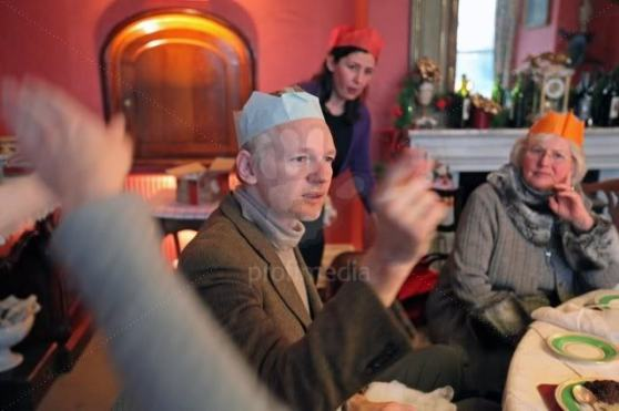 Julian Assange Christmas Crackers