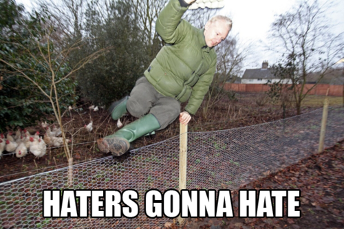 Haters Gonna Hate! Julian Assange and Me