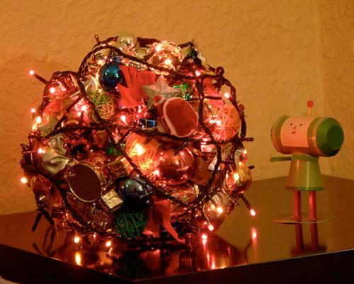 Katamari Damancy Christmas Katamari