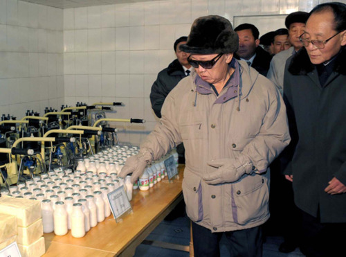 Kim Jong Il better be thirsty