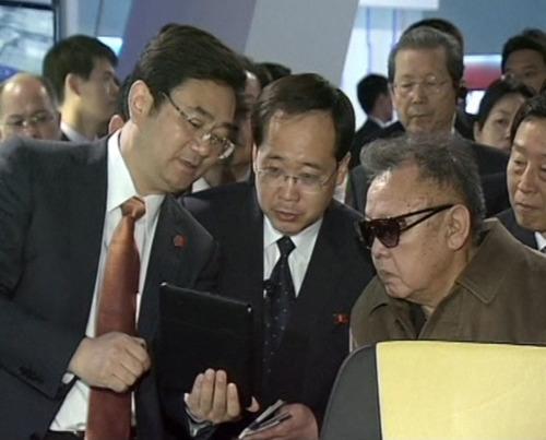 Kim Jong Il doesn't get the joke on Twitter