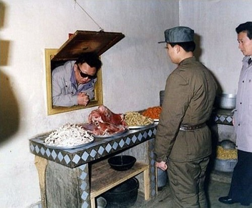 Kim Jong Il goes down the rabbit hole