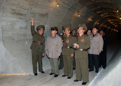 Kim Jong Il realizes he doesn't have much of a view