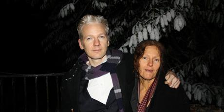 Julian and Christine Assange