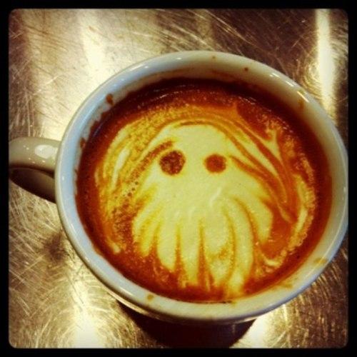 Cthulhu coffee is tentacularly tasty!