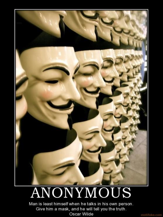Oscar Wilde is Anonymous