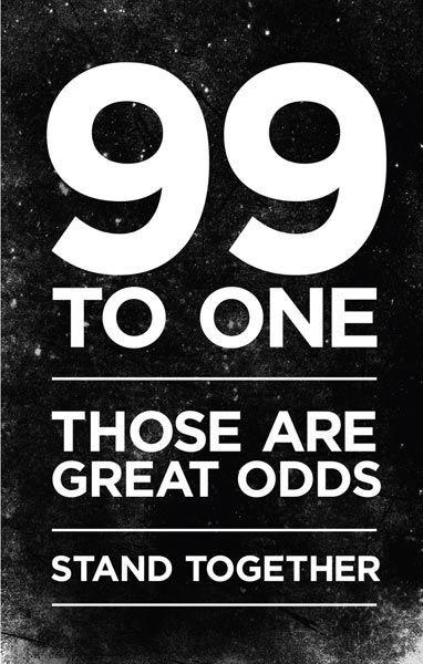 99 to 1