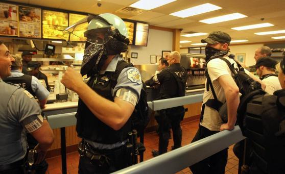 Black Bloc Cop