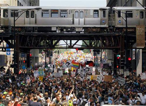 Chicago el protesto