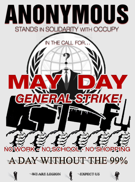 Be Anonymous this May Day!