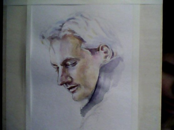 Julian Assange by Cara Spoza
