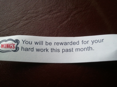 THIS is my fortune?