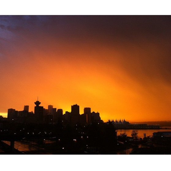 Vancouver Sunset by Robin McMillan