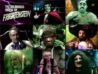 The Hilarious House of Frightenstein is not exactly the Brady Bunch