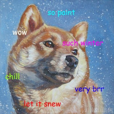 Snow Doge says: very funds. So Olympics. Wow.