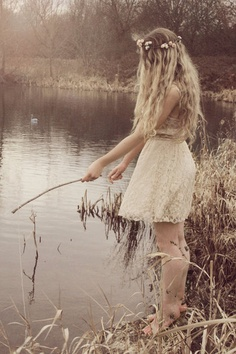 Soon to be me. Titania, queen of hippie fisherpersons