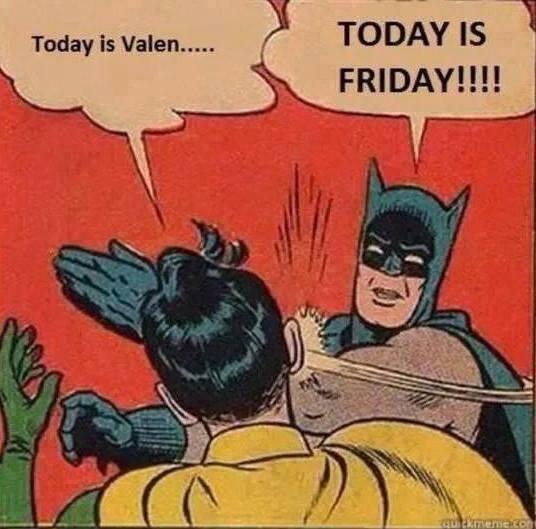 Valentine's Day at Batman's