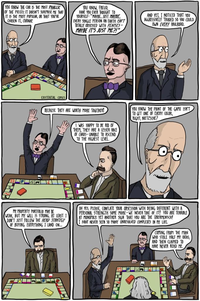 German Philosophers play Monopoly. YOU WON'T BELIEVE WHAT HAPPENS NEXT!