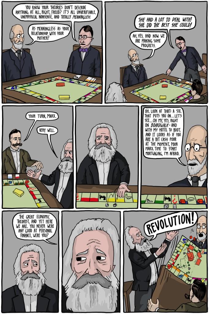 German Philosophers play Monopoly