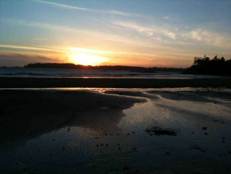 OpHippie: Mackenzie Beach Sunset