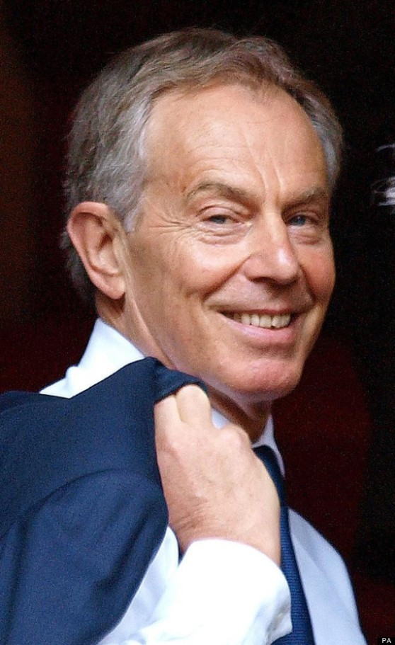 Tony Blair says How YOU doin?