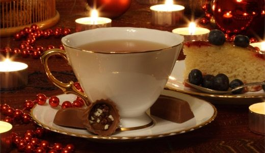 A Christmas Tea Party for one...or is it?