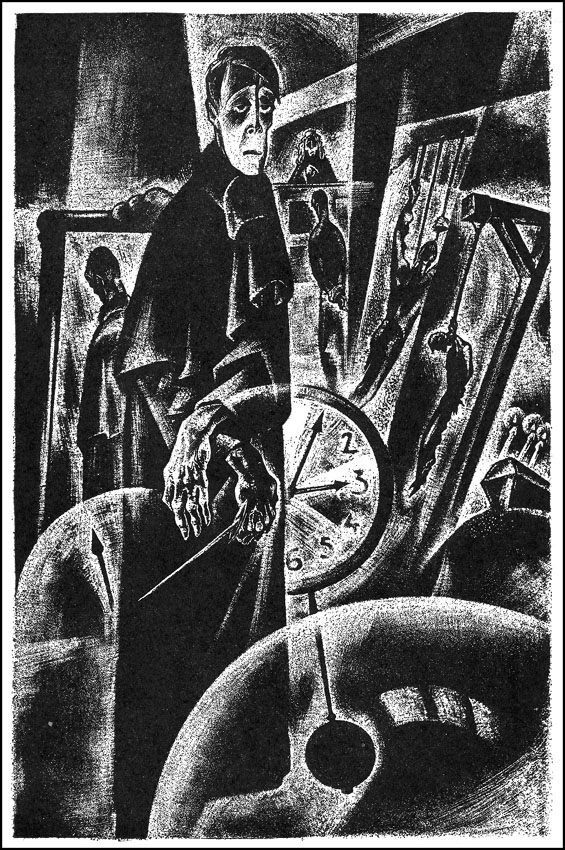 Markheim, in portrait by the incomparable Lynd Ward