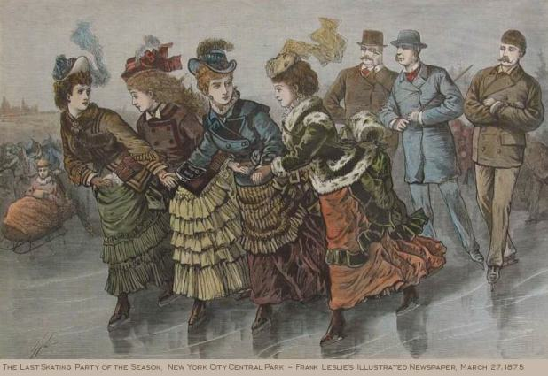 A Victorian Skating Party