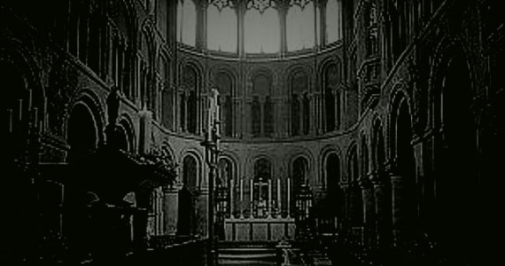 St. Bartholomew's Church in London, reputed to be the most haunted in the city