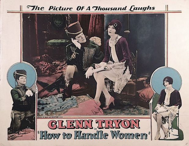 How to Handle Women lobby card