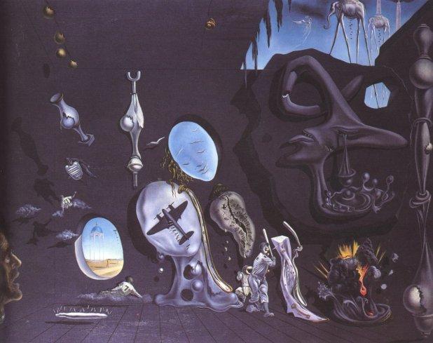 Salvador Dali Melancholy Atomic