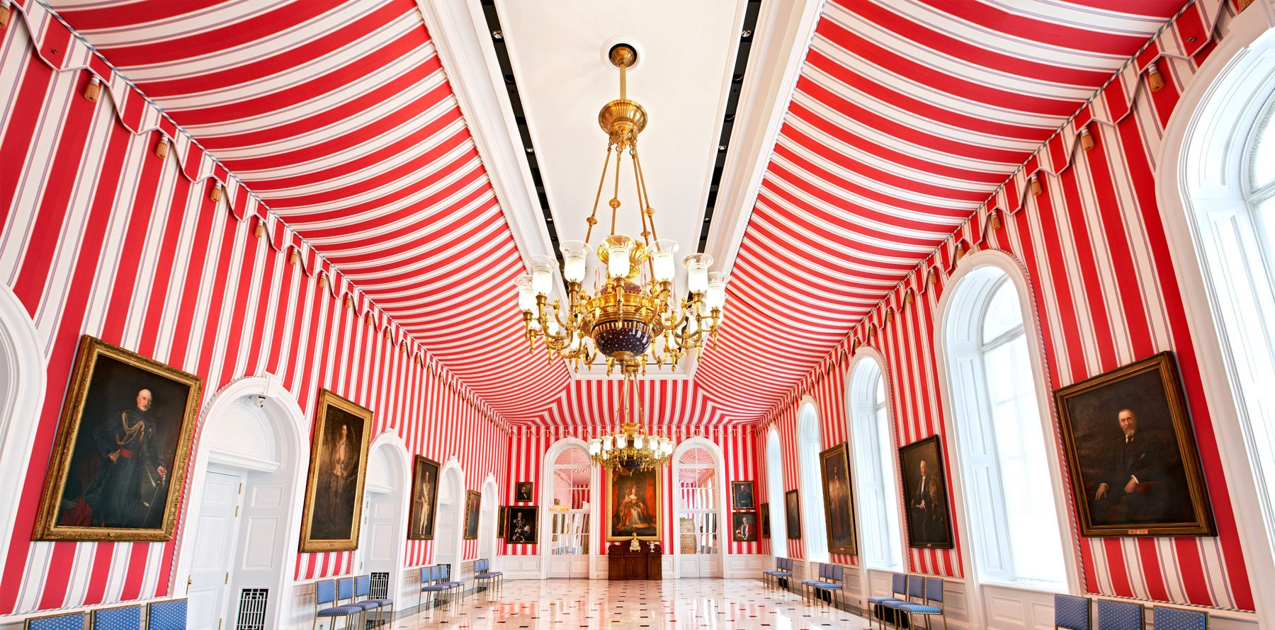 """This is a real room, in Rideau Hall. As Liberace used to say, """"I hope you like it. You paid for it."""""""