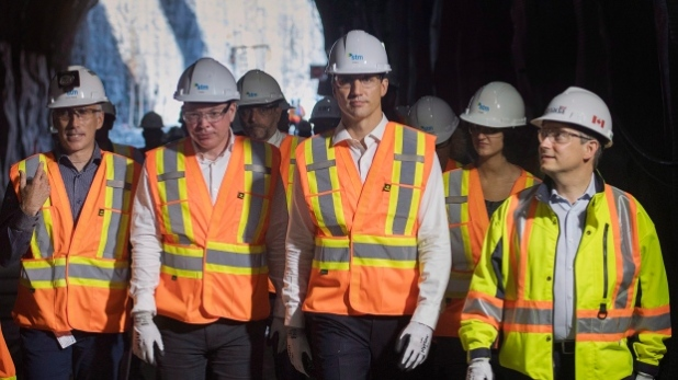 Walking in like Zoolander at the mine